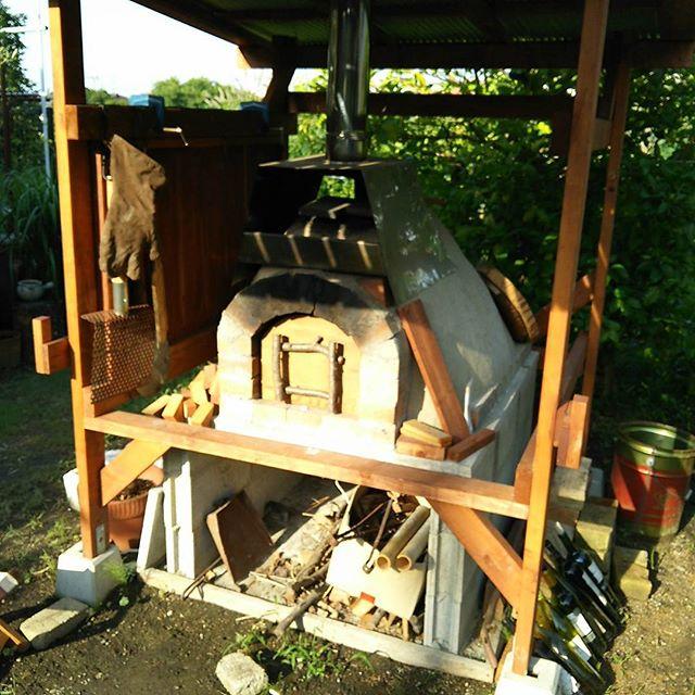 楽しい石窯・アースオーブンとナポリピザ・ハードパン