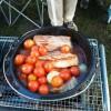 【Outdoor】ほっておくだけ ダッジオーブン トマト&ポーク【レシピ】