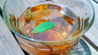 【レシピ】ミント・ビワの葉入り十薬ブレンド茶にすると飲みやすい【どくだみ茶】