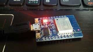 【ESP8266】ATコマンドでつなぐ【ESP-WROOM-02開発ボードESPr Developer】