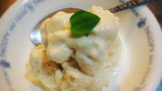 【夏のレシピ】ココナッツミルクでビーガンアイス。さっぱり系のビーガンスイーツ【ハーブと一緒に】