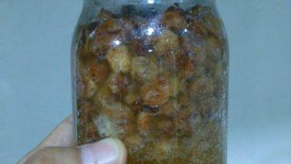 【天然酵母】基本のレーズン酵母 作り方 レシピ【やっぱり基本はレーズン】