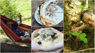 【石窯ピザ】田無のラジコン友達と青梅でピザ会とタケノコ掘り。やっぱりラジコンやってた人は器用だ!【アースオーブン】