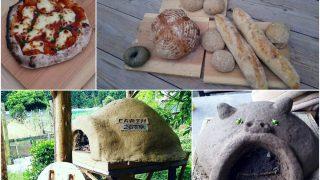 【DIYクリエーターズ】第4回ピザ・パン窯ワークショップ 火入れ・試し焼き と 小さいブタ窯【ハンモックも大人気】