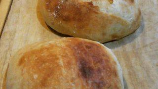 【パン】じゃがいも成分を少し添加して、ふっくらもっちりカンパーニュに【自然の添加材いろいろ】